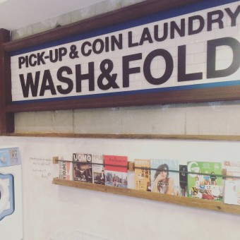 WASH&FOLD奥沢店に行きました。